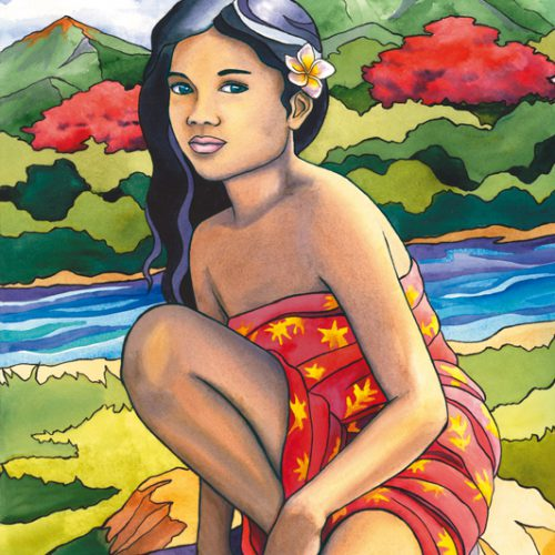 The Little Tahitian Girl